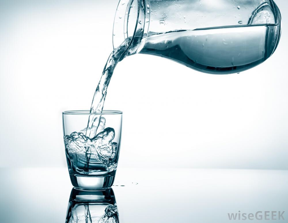 1. A great way to lose weight is to drink a glass of water before and after a meal. Drinking it before the meal fills you up, causing you to eat less. :)