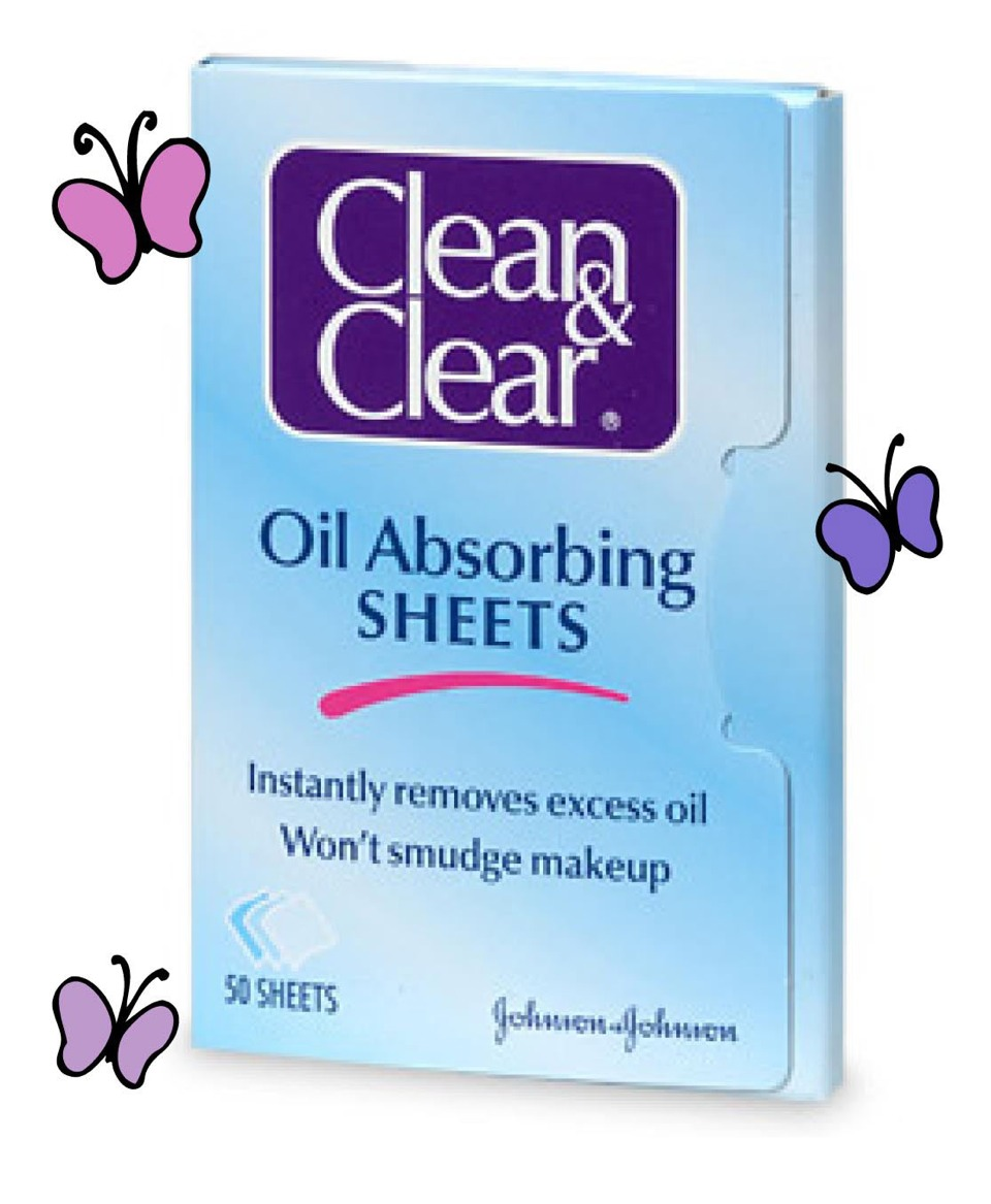 Then try Clean & Clear's oil absorbing sheets! They are good for on the go- they'll fit in your purse or even your pocket. This has saved the day (and night) so many times. This is my inexpensive holy grail