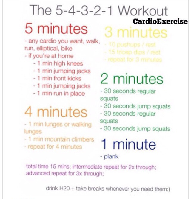 this is a cardio workout. it's going to be hard to do the first time but you'll get the hang of it (:
