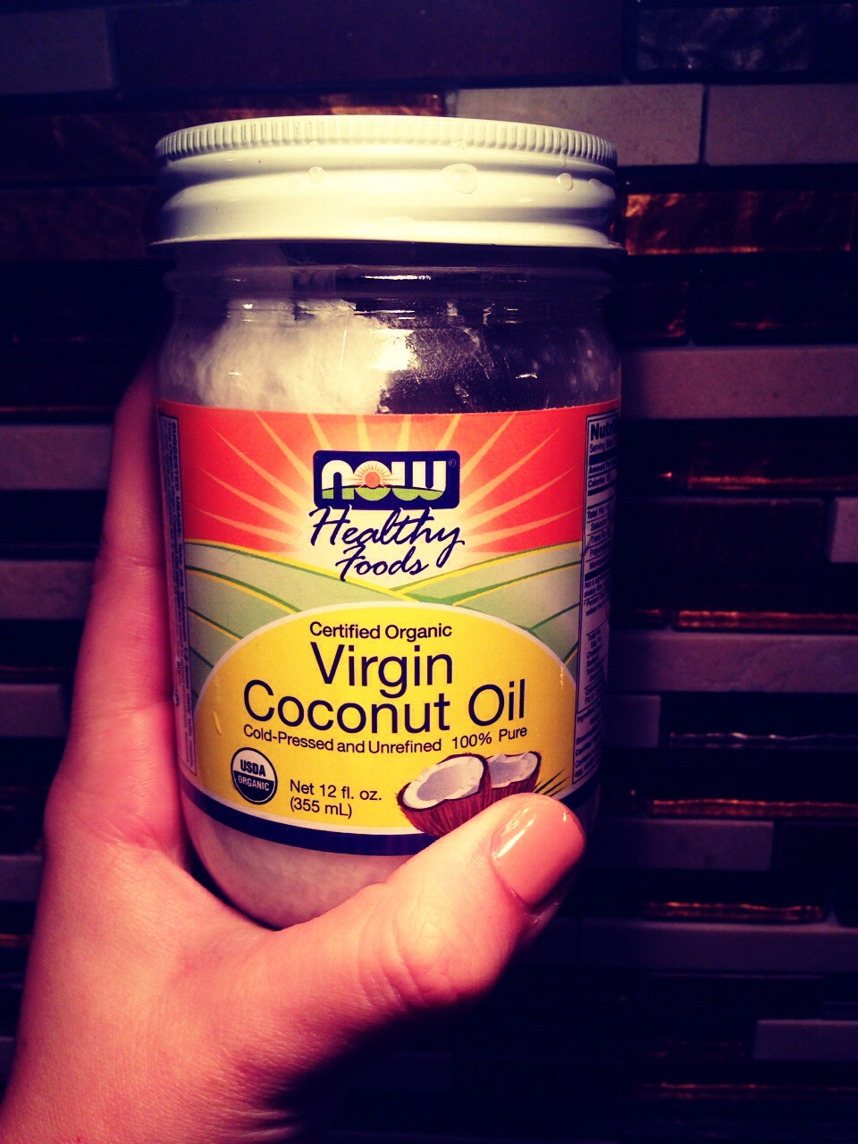 You can buy coconut oil at your local grocery store-I prefer the organic oil, this was purchased at Whole Foods