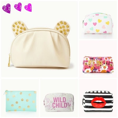 Makeup bags is awesome for putting into a stocking for girls! If they like makeup bags like that.