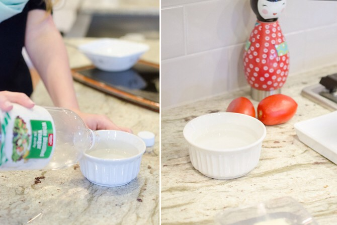 FILL A BOWL WITH VINEGAR & PLACE IT IN A ROOM THAT NEEDS REFRESHING | Vinegar does an amazing job at neutralizing odors