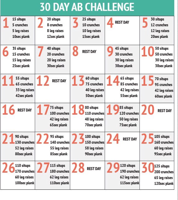 30 Day Challenge💪 by Emma Lammey - Musely