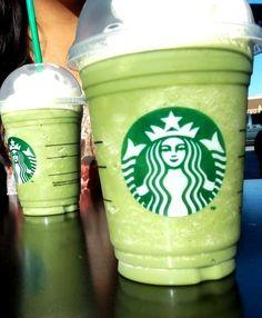 Thin Mint Frappuccino  The Secret:	 1) Tazo Green Tea Creme Frap 2) 2 Pumps Chocolate Syrup 3) 1 Pump Mint Syrup 4) Java Chips 5) Honey  How to Order:	Show your barista this secret recipe for the Thin Mint Frap, they will happily make it for you!