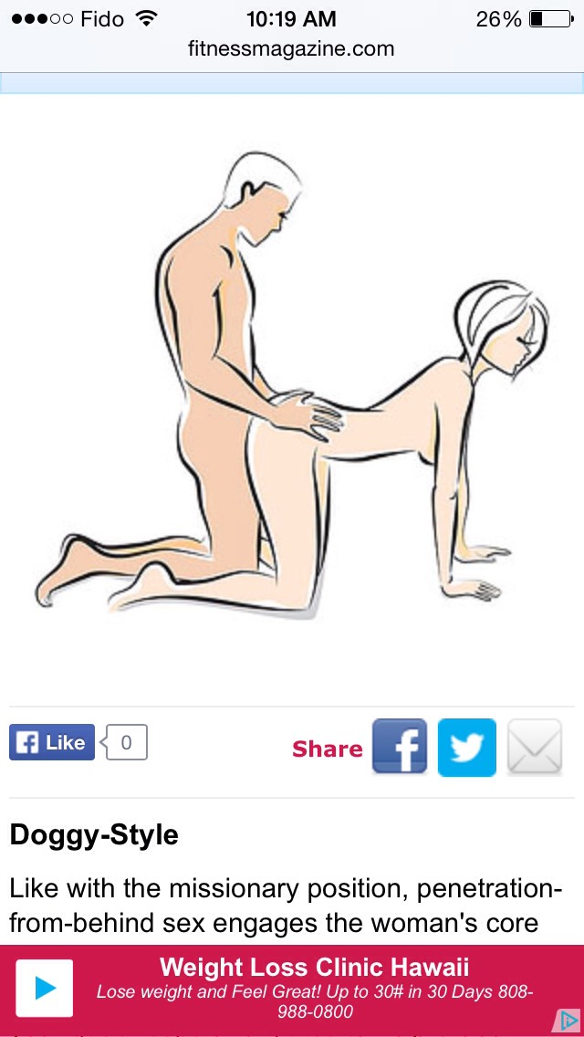 Knee elbow sex position
