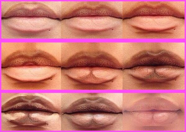 Contour your lips.