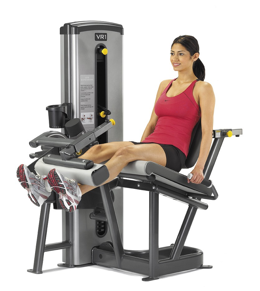 Do 10-15 reps of leg extensions