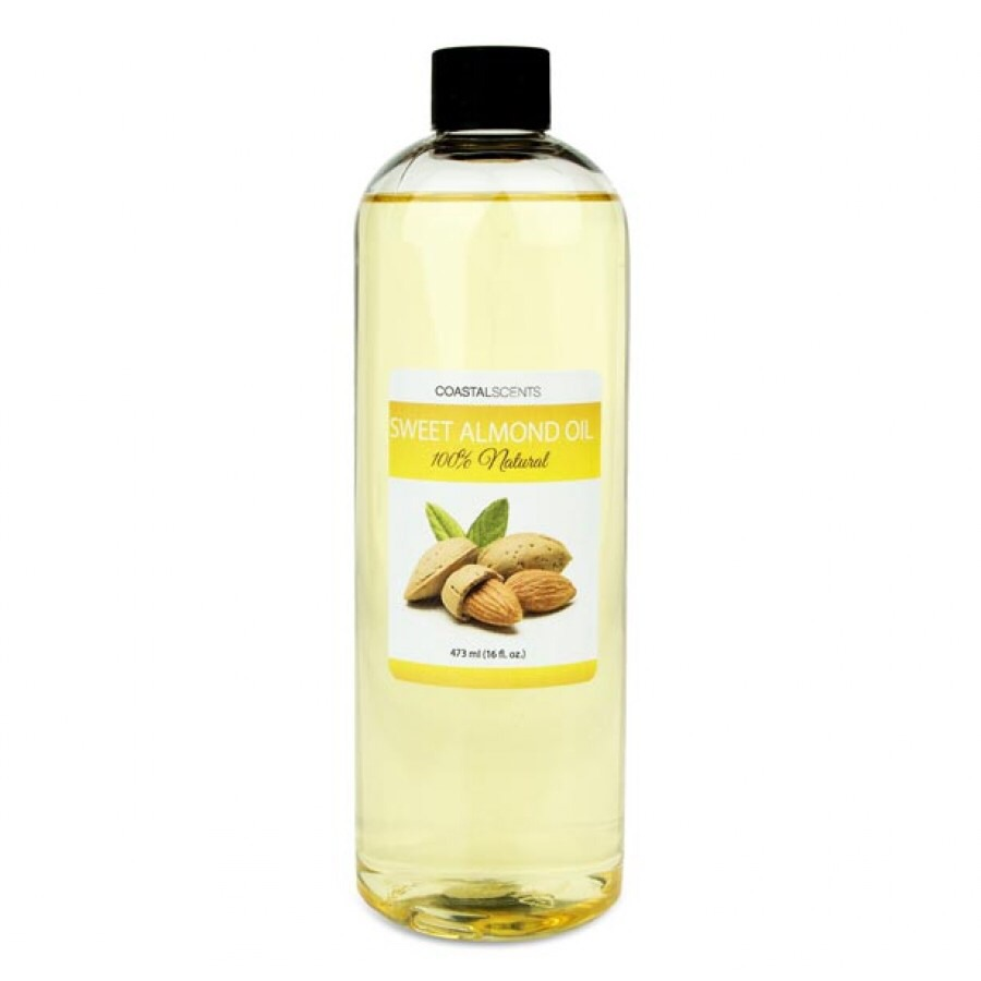 Plain almond oil works fine. I love the smell of sweet almond oil. Massage on you entire body and face as a moisturizer!  It's also a great eye makeup remover!!