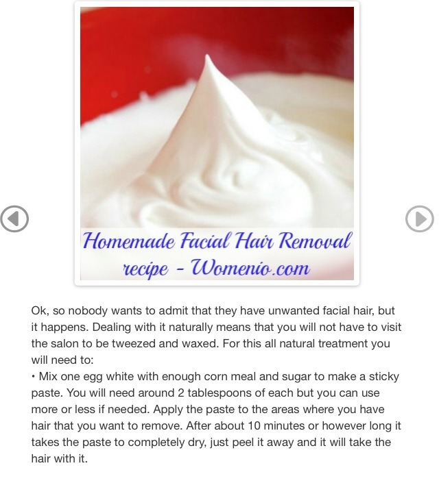 💫✨Homemade Facial Hair Removal Recipe