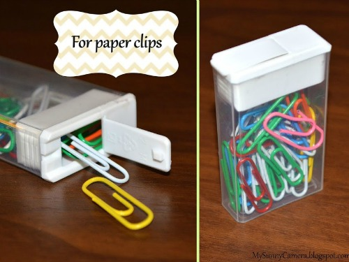 paper clips and office/school supplies