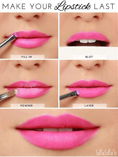 Make your lipstick last!