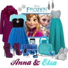 Casual Elsa and Anna!