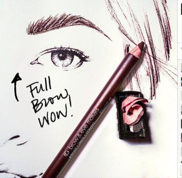 Trending for Fall: a whole lotta brow. Grab a pencil 1-2 shades lighter than your brows and fill them in to give them an extra edge. #EasyBreezyBeautyTips #covergirl