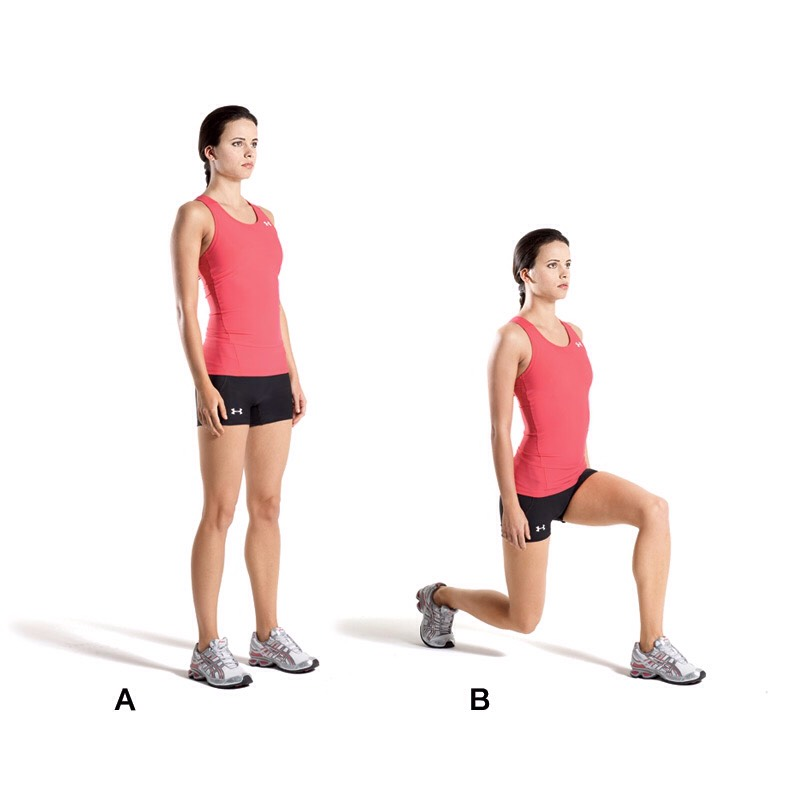 20 lunges (each side)