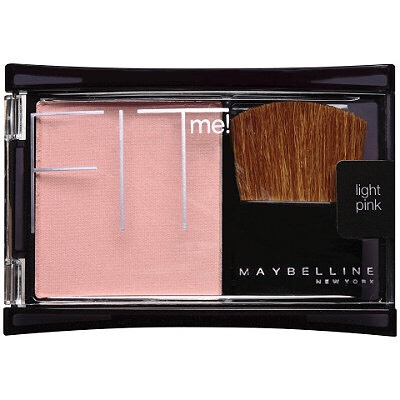 Maybelline fit me blush-has many options and comes with its own brush