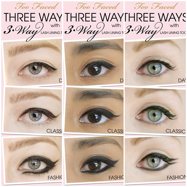 The perfect cat eye for you depends on the shape of your eye such as almond or Moroon shaped eyes.
