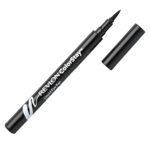 I use Revlon colour stay eyeliner in the colour black . As well as my mascara it is black .