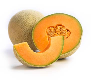 """Cantaloupe  Cantaloupe is a good source of vitamins A and C — both are important for healthy skin,"""" says Taub-Dix of this juicy, succulent fruit. """"It's also low in calories and high in water content to provide refreshing hydration in summer months"""