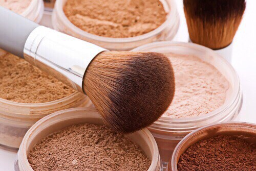 3. Always apply powder where you are shiniest first, which it usually your T-zone, with a very light dusting everywhere else.