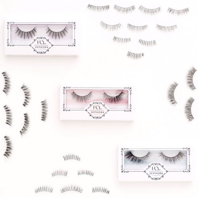 7️⃣Sephora Collection House of Lashes: Everlasting, Timeless + Seductress |These cruelty-free, handcrafted, 100% sterilized human hair lashes will take any makeup look to a whole new level!