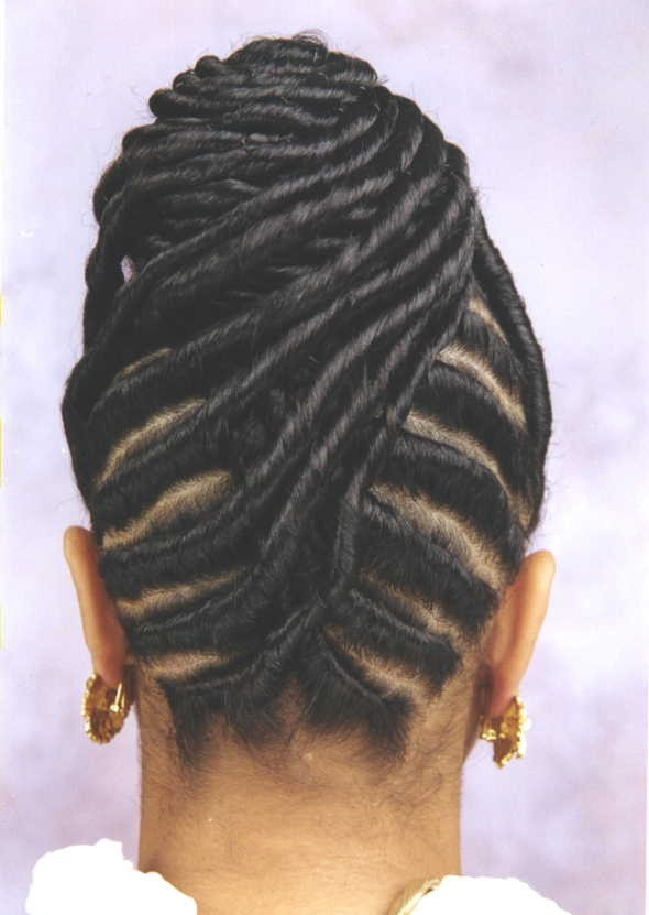 Can use olive oil to create moisture on scalp
