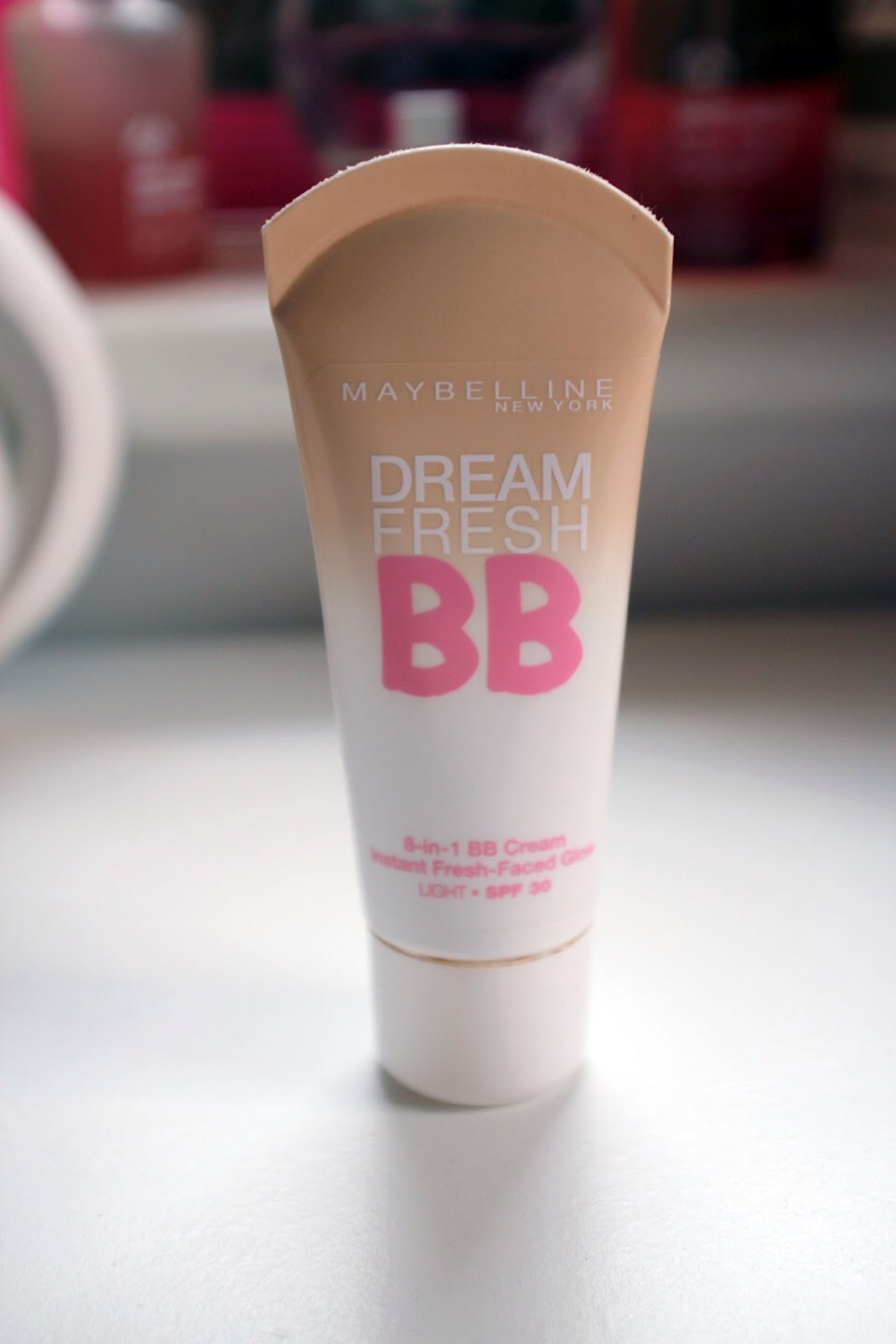 Bb cream is not only great because it moisturises and gives coverage and colour but if your wearing a dress and you have a pesky bruise you can put some bb cream over the bruise to cover/hide it !