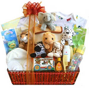 Baby Essentials gift basket