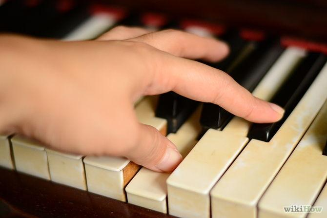 This crossing under fingers 3 and 4 (or over with fingers 3 and 4) may not seem important on the all-white-keys C scale, but when you start working on other keys, its importance becomes clear, so starting these good habits while learning this easy scale will pay off in the long run.