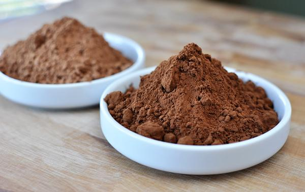 You will need 2 tablespoons of cocoa powder...