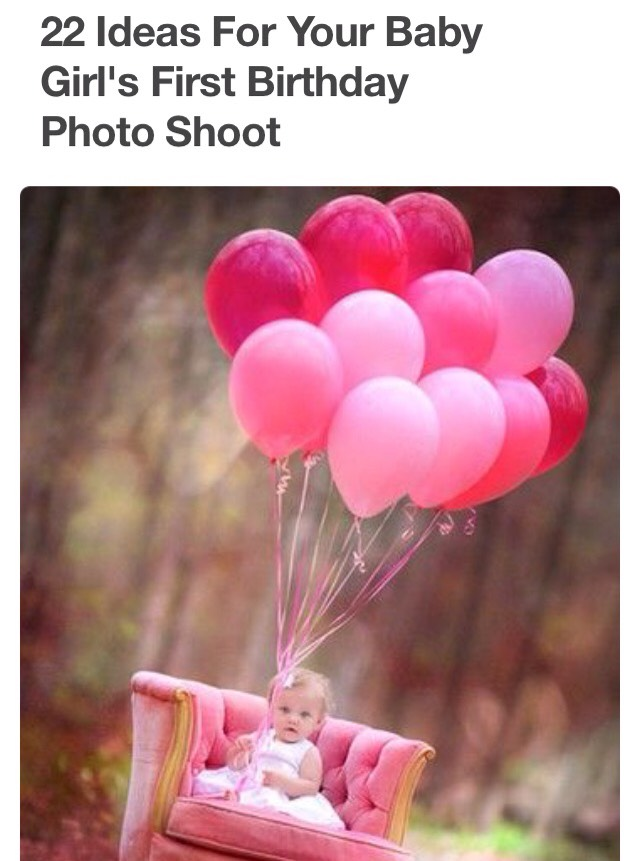 22 Ideas For Your Baby Girls First Birthday Photo Shoot By Mel