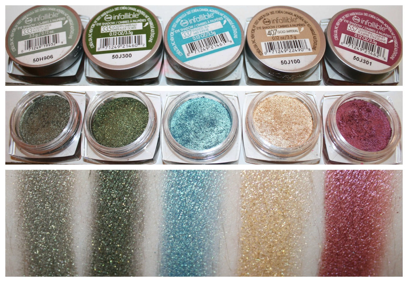 10. L'Oréal Infallible Eyeshadow: These $8 shadows aren't messing around when it comes to ultra-pigmented color, though you'll want to prime your lids first with a good base.