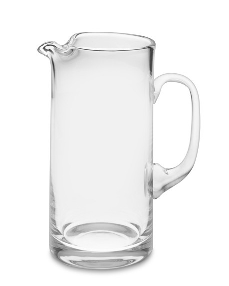 Big glass pitcher