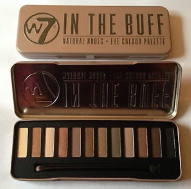 The W7 In the Buff palette is a great alternative to the Naked 2 palette