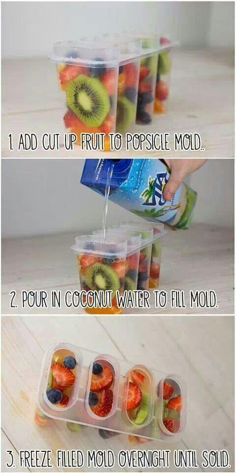 Delicious and healthy!  I love coconut water!  Please like and share!