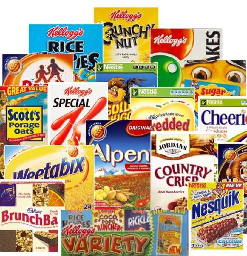 Favorite cereal