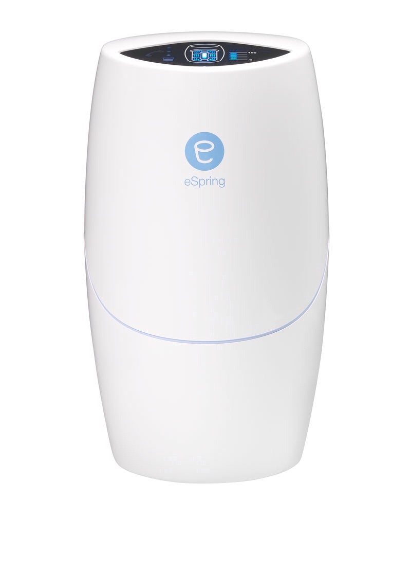ESPRING water filter will purify you tap water by 100%. The water will taste better free of any harmful chemicals.