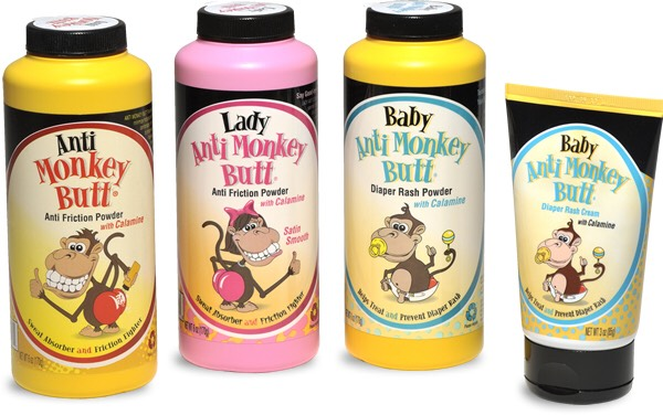 Anti Monkey Butt powder is the only product that keeps my thighs from chafing.