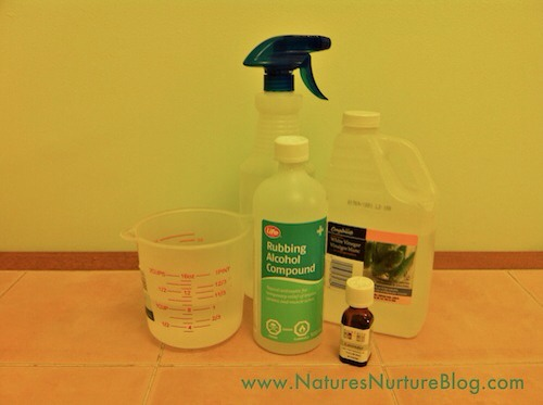 All-Natural Homemade Floor Cleaner by
