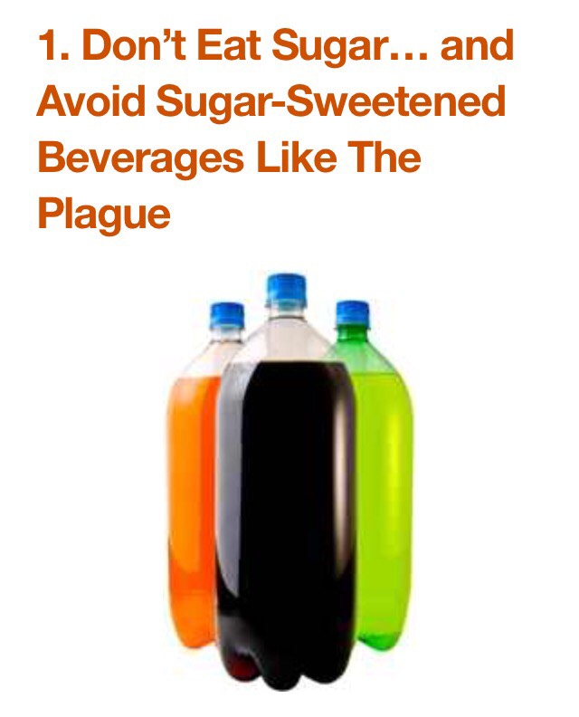 Added sugar is extremely unhealthy. Studies show that it has uniquely harmful effects on metabolic health. Sugar is half glucose, half fructose… and fructose can only be metabolized by the liver in any significant amount.
