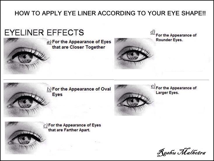 Enhance with eyeliner!