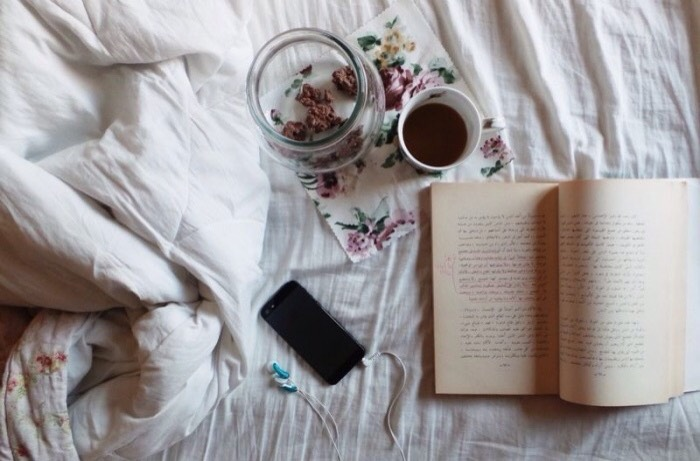 Step 5: read a book. If you love reading, get cozy under the covers and lose yourself in an amazing world to get your mind off of your own