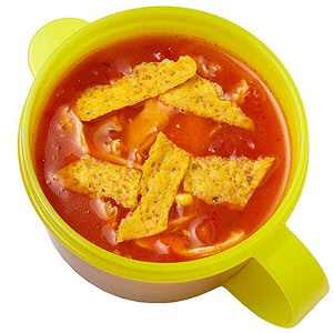 Tortilla soup in a thermos  Corn  Grapes  Makes:6 cups Prep40 mins   Cook20 mins