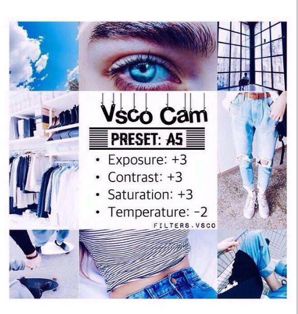 VSCO Filter Hacks by Bella M - Musely