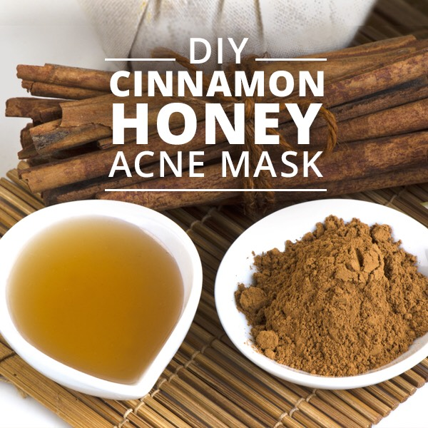 Make a cinnamon and honey mask honey is a natural anti-biotic killing pimples!  You will need… -2 tablespoons of honey -1 teaspoon of cinnamon  DirectionsRinse your face,Mix 2 tablespoons of honey and 1 teaspoon of cinnamon together.Apply the mask to your faceand leave on for 10-15 minutes.Rinse off!