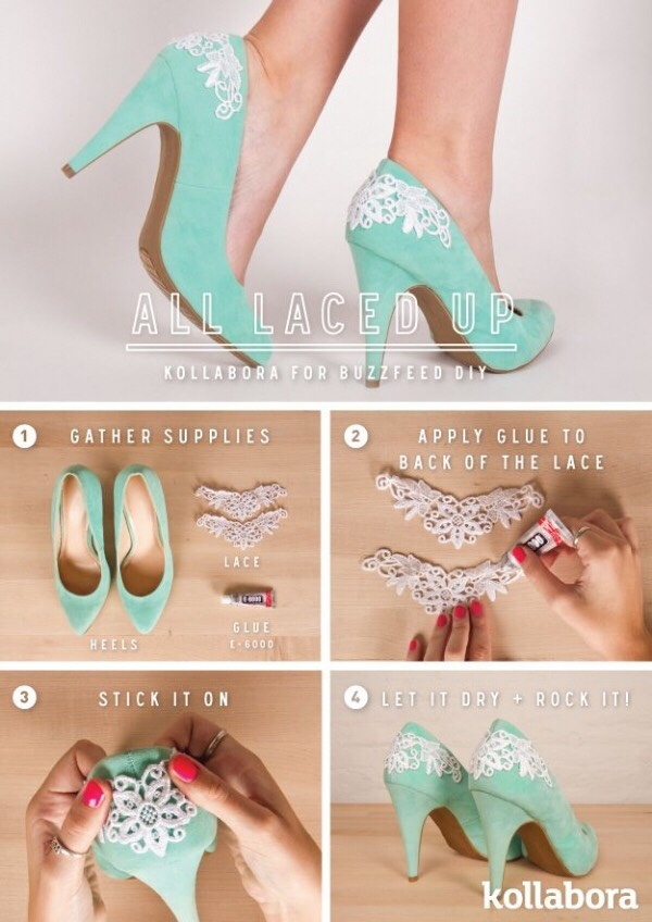 Make your heels look prettier.