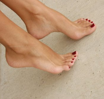 Now that you gave yourself a manicure let's get a pedicure. Do what you did on your hands on your feet and soak them in warm water salt and lemon and just sit back and relax. Now maybe get a foot massage or even do it yourself!