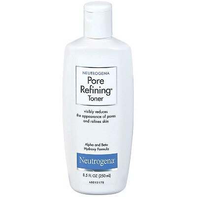 Then I put some of this on a cotton ball & put it all over my face to tighten my pores.