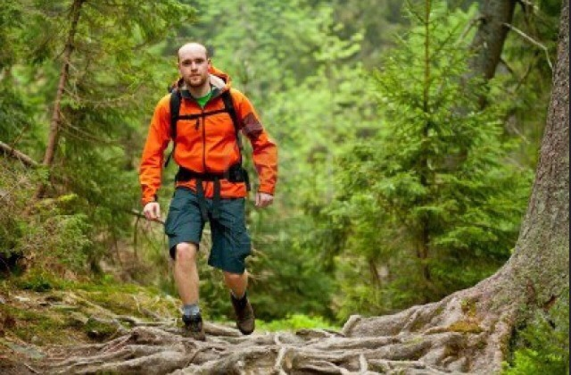 Hiking  350 calories per hour