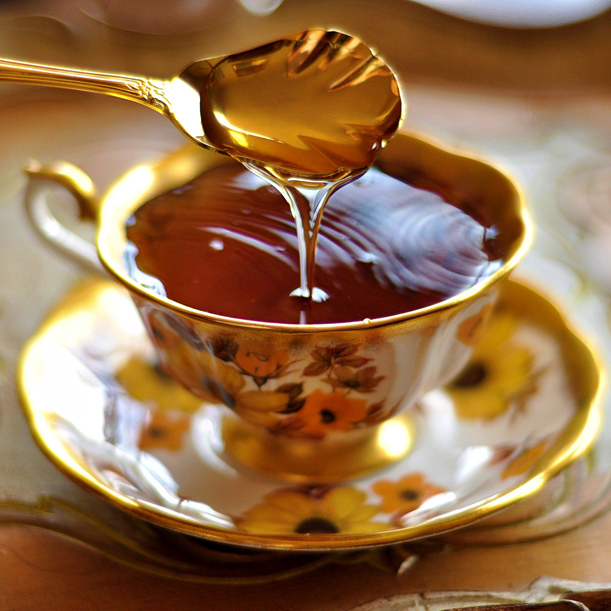 4. Honey At its core, honey is pure glucose, but you don't need to worry about a sugar crash here. Glucose tells your body to shut off production of orexin, which is a neurotransmitter closely linked with alertness. So essentially, honey chills you out.  Try mixing it with warm milk!