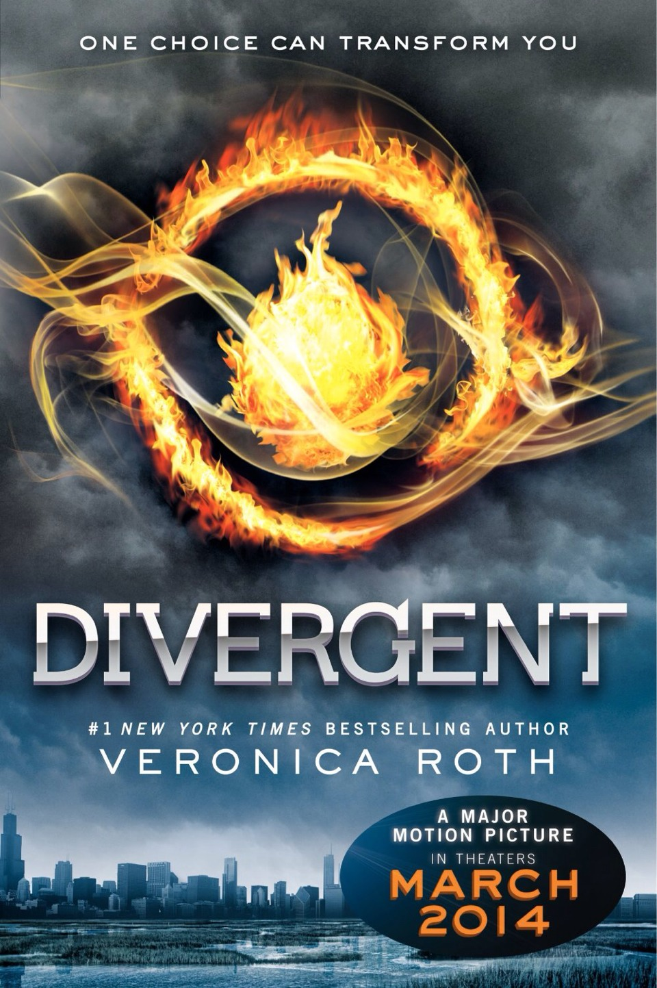 Divergent is a very very good book. It is now a major motion picture and is a series of 3.